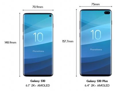 Galaxy S10 – tak wyglądają nowe smartfony Samsunga
