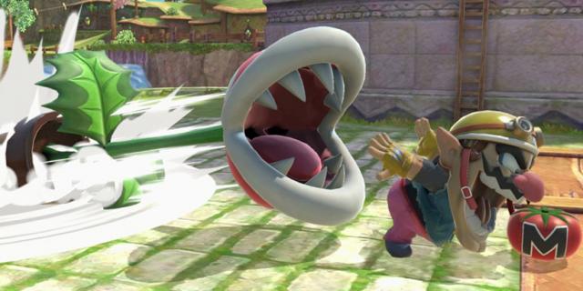 Piranha Plant trafiła do Super Smash Bros. Ultimate razem z poważnym błędem