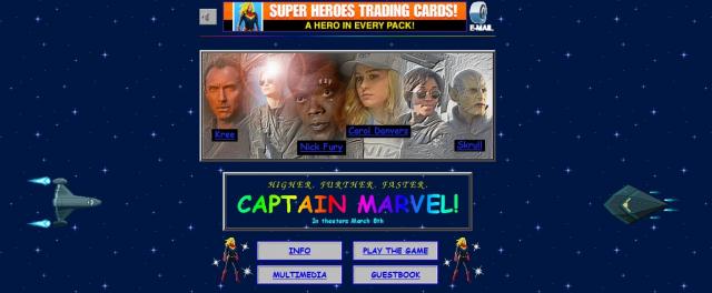 Kapitan Marvel ma stronę rodem z lat 90. Nowe plakaty i zdjęcia