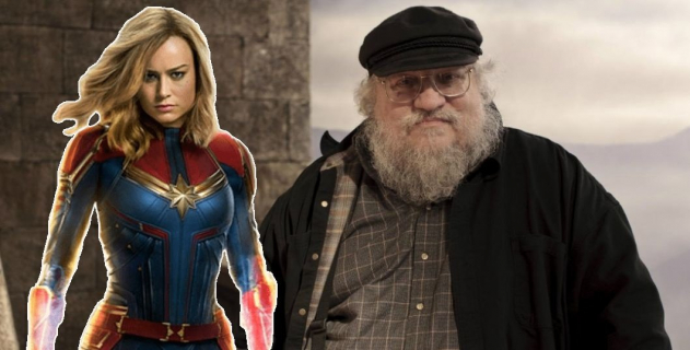 George R.R. Martin zachwycony Kapitan Marvel: Thanos ma przerąbane