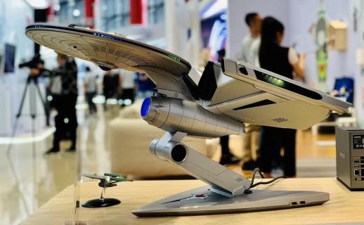 Lenovo i Star Trek łączą siły. Oto komputer przypominający Enterprise NCC-1701A