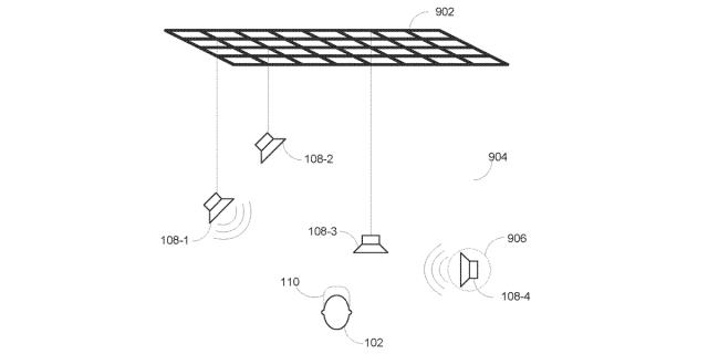 Firma Harman opatentowała system latających głośników dla wirtualnej rzeczywistości