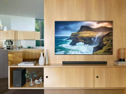 Nowe soundbary Samsunga automatycznie dostosują brzmienie filmów