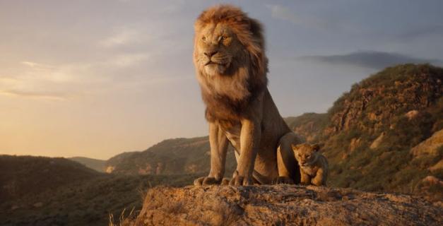 Król lew - nowy spot. Simba kontra Skaza