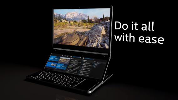 Intel Honeycomb Glacier to nietuzinkowy, dwuekranowy laptop dla graczy