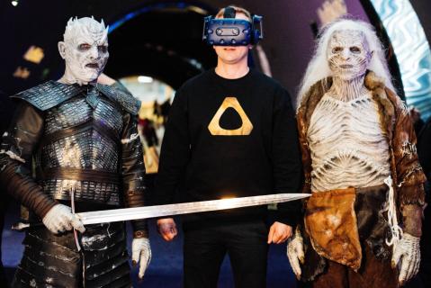 Gra o tron w VR na festiwalu Warsaw Comic Con