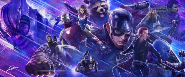Avengers: Koniec gry - okładka i lista dodatków amerykańskiego wydania Blu-ray