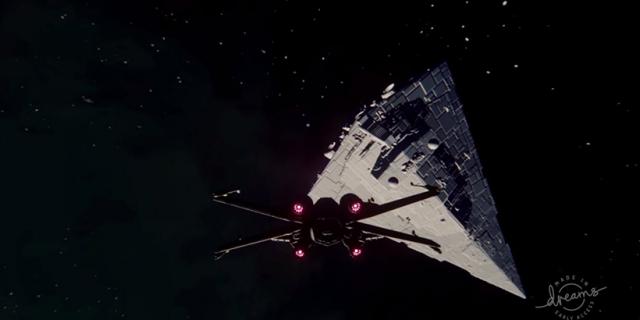 Ta gra z X-Wingiem powstała w Dreams. Zobacz wyjątkową pracę fana