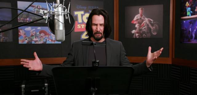 Toy Story 4 - Keanu Reeves daje z siebie wszystko. Nagrania dubbingu
