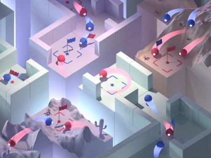 Sztuczna inteligencja DeepMind nauczyła się grać w Quake'a III