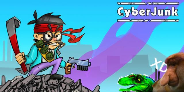 CyberJunk - powstała gra mobilna, której bohaterem jest Cyber Marian