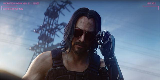 Cyberpunk 2077 – Keanu Reeves do przytulania oraz… oficjalne skarpetki. Oto nowe gadżety z gry