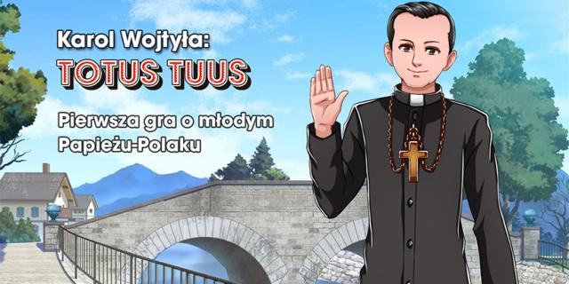 Karol Wojtyła: Totuus Tuus - powstaje gra o papieżu w stylistyce anime