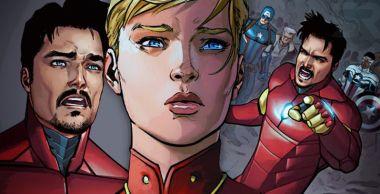 Spoilerujesz Grę o tron? Kapitan Marvel tak - Iron Man się wkurzył