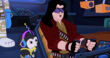 Space World - Tommy Wiseau w animacji science fiction [WIDEO]