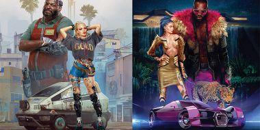The World of Cyberpunk 2077 z datą premiery. Album przybliży nam uniwersum