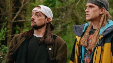 Jay i Cichy Bob - plakat rebootu filmu w stylu Avengers: Endgame