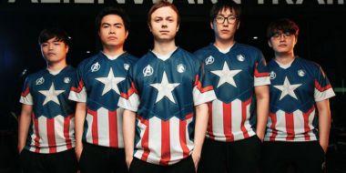 Marvel wspiera esport. Team Liquid ze strojami inspirowanymi Avengers