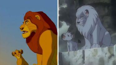 Król lew to plagiat? Te kadry pokazują zaskakujące podobieństwo