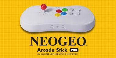 Neo Geo Arcade Stick Pro – retrokonsola w kontrolerze