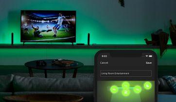 Sync Box zsynchronizuje inteligentne oświetlenie z obrazem z telewizora