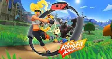 Nintendo zapowiada RingFit Adventure - połączenie gry przygodowej i fitnessu