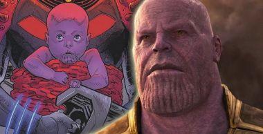 Baby Yoda czy Baby Thanos? Szalony Tytan w kołysce wygląda uroczo