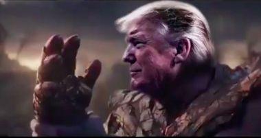 Prezydent Trump jest jak Thanos? Kuriozalna reklama wyborcza - w sieci wrze