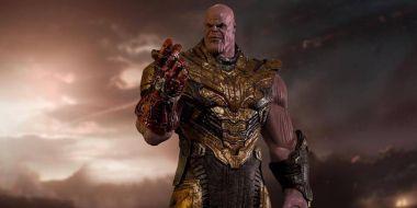 Avengers: Koniec gry - kapitalna figurka Thanosa. O czym myślał Iron Man w ostatniej scenie?