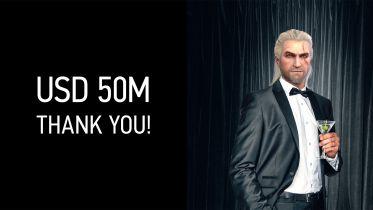 Wiedźmin 3 z kolejnym sukcesem na Steam. 50 milionów dolarów zarobiono w nieco ponad rok