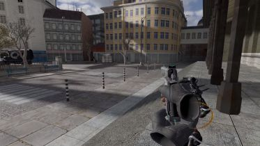 Half-Life 2 uruchomiony na silniku Half-Life: Alyx