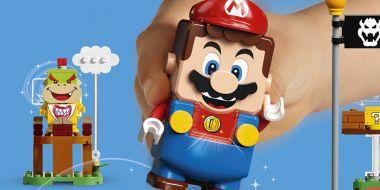 LEGO Super Mario ujawnione. Tak prezentują się interaktywne klocki