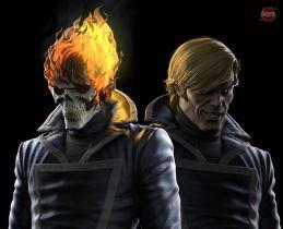 Ghost Rider, Blade i inni. Ciekawe grafiki koncepcyjne
