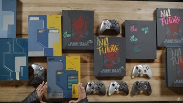Microsoft opowiedział o kulisach projektowania konsoli Xbox One X Cyberpunk 2077 Edition