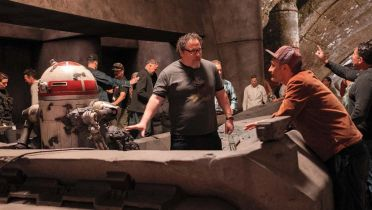 The Mandalorian - zdjęcia zza kulis finału 1. sezonu serialu. Waititi i Favreau szaleją na planie