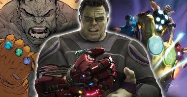 Marvel - przed Avengers: Koniec gry Hulk też założył Rękawicę. Ba, nawet dwie naraz