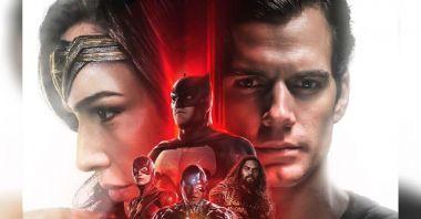 Liga Sprawiedliwości - oto kolejny plakat Snyder Cut. Superman w czarnym stroju