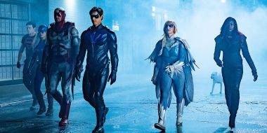 Titans - Arkham Asylum na nowych zdjęciach z planu 3. sezonu serialu