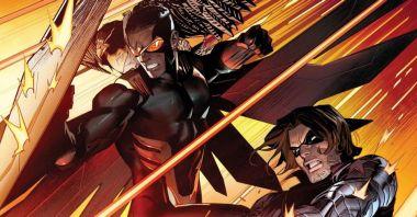 Falcon i Winter Soldier przebrali się za Kapitana Amerykę. Stroje od... rodziców złoczyńcy