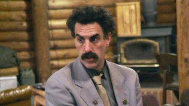 Borat 2 - reporter stosuje własne protokoły bezpieczeństwa w programie Jimmy'ego Kimmela. Zobacz zabawne wideo