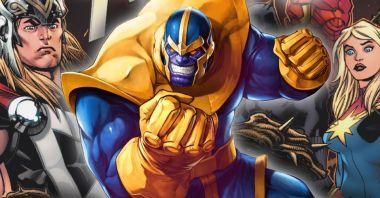 Marvel wyjawił, kiedy Avengers i Thanos walczyli ze sobą po raz pierwszy