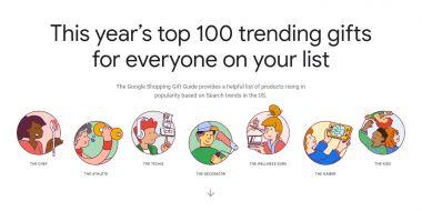 Google Shopping Gift Guide - jakie produkty cieszą się największą popularnością przed Świętami?