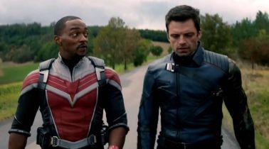The Falcon and the Winter Soldier - tak prezentuje się kostium nowego Kapitana Ameryki. Anthony Mackie o 4. fazie MCU