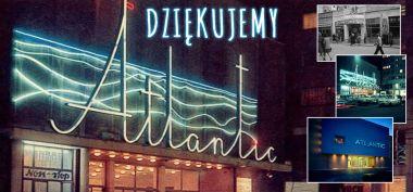 Kino Atlantic kończy działalność? Jest oświadczenie warszawskiej placówki