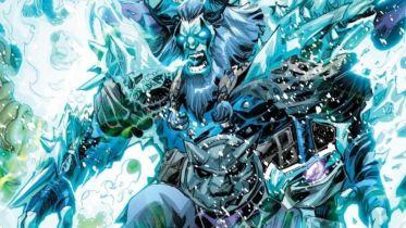 Superman i Black Adam razem nie dali rady Frost Kingowi. I wtedy wchodzi on, wielki jak Godzilla...