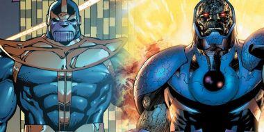 Darkseid i Thanos, Marvel i DC, kto od kogo ściągał - te postacie są łudząco podobne