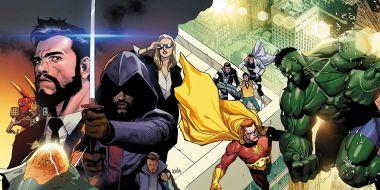 Marvel - tak umrze Galactus. Złoczyńca Wszechojcem, Cap nadzieją świata - wrze w Heroes Reborn