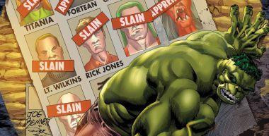 Bezlitosny Hulk vs. Avengers. Zielony Goliat wymyka się spod kontroli