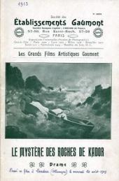 Le mystère des roches de Kador (1912)