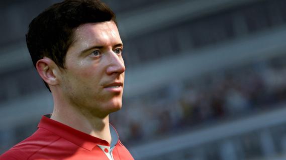 FIFA 18 – Lewandowski w czołówce najlepszych zawodników